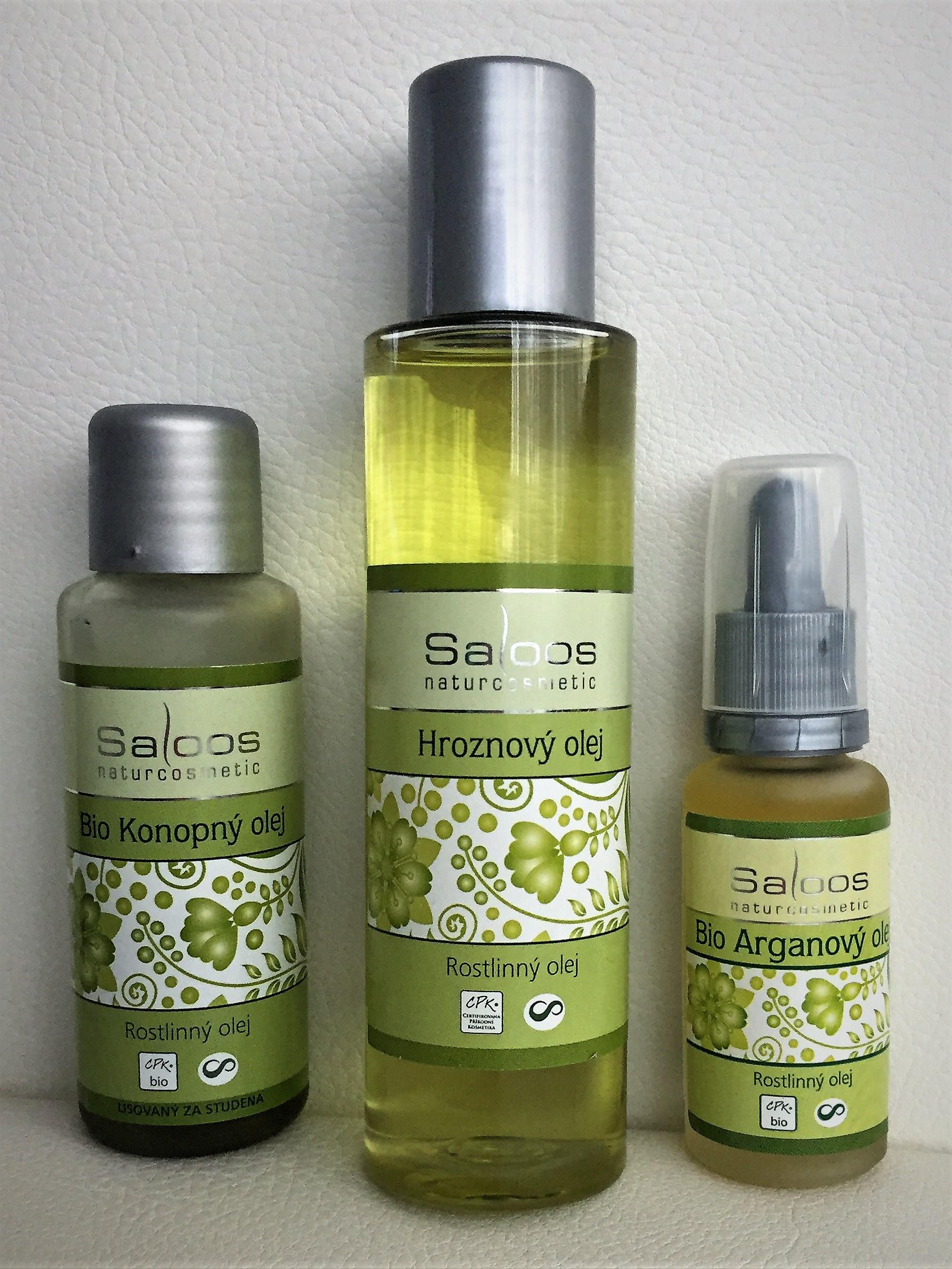 Prírodné oleje Saloos skúsenosť